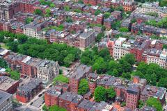 boston architecture - stock photo