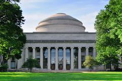 Boston mit campus Stock Photos