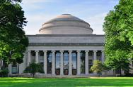 Stock Photo of boston mit campus