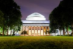 boston mit campus - stock photo