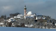 Monastery Andechs Stock Footage