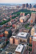 boston downtown - stock photo