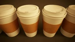 Coffee Cup loopable animation. - stock footage