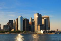 Stock Photo of new york city skyline