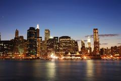 Stock Photo of urban manhattan, new york city