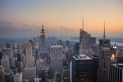 Stock Photo of new york city manhattan