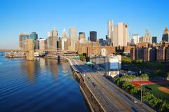 Stock Photo of new york city manhattan skyline