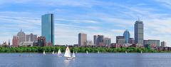 urban city skyline panorama - stock photo