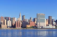 new york city manhattan midtown - stock photo
