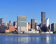 Stock Photo of urban city skyline