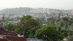wide shot of Port-au-Prince Haiti - stock footage