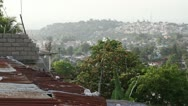 Wide shot of Port-au-Prince Haiti Stock Footage