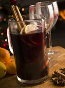 Jug of Mulled Wine Stock Photos