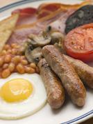 Full English Breakfast Stock Photos