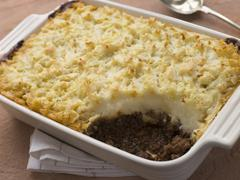 Cottage Pie in a Dish Stock Photos
