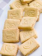 Custard Cream Biscuits Stock Photos