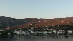 Andros 1 - greek island landscape Stock Footage