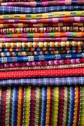 Traditional Mexican Blankets - stock photo