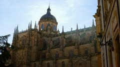 Salamanca Cathedral Stock Footage