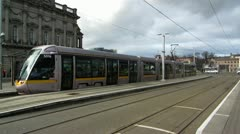 Luas Red Line 5 Stock Footage