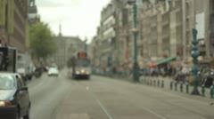 Amsterdam Tram - Train Stock Footage