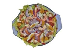 italian salad - stock photo
