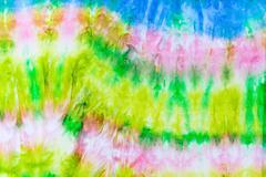 abstract pattern on silk batik - stock photo