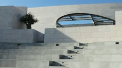 Champalimaud Centre Architecture Stock Footage