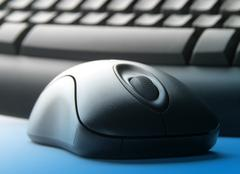 Keyboard and mouse Stock Photos