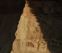 Extreme slow-motion Lake Powell canyons five Stock Footage