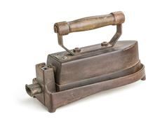 Antique electric iron Stock Photos