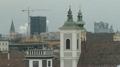 Church tower Stock Footage