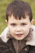 Stock Photo of Portrait Of Young Boy