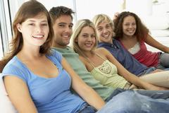 Friends Spending Time Together Stock Photos
