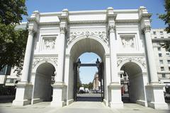 Marble Arch, London, England Stock Photos
