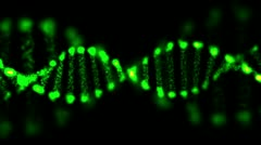 animated abstract dna, hd 1080p, loop. - stock footage