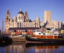 Stock Photo of Liverpool waterfront