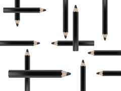 Black pencil Stock Photos