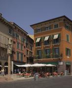 Piazza bra, verona, veneto, italy, Stock Photos