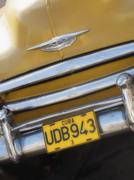 Close up of a classic american car, cuba Stock Photos