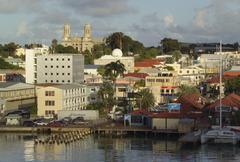 st johns, antigua, caribbean - stock photo