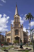 Cathedral of st louis, fort de france, martinique Stock Photos