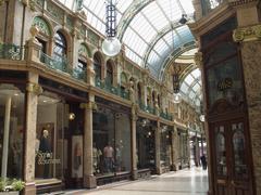 Interior of the county shopping arcade, leed Stock Photos