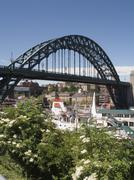 tyne bridge, newcastle on tyne, tyne and wear, england - stock photo