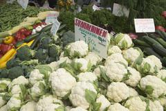 Fresh vegetables for sale, helsinki, finland Stock Photos
