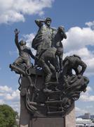 Second world war memorial, oslo, norway Stock Photos