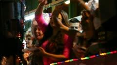 Las Palmas Gran Canaria carnival parade Stock Footage