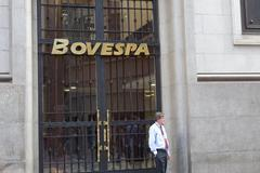 Bovespa Brazilian Stock Exchange Market Stock Photos