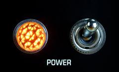 Stock Photo of amplifier panel