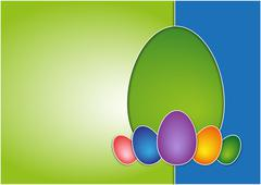Stock Illustration of easter background